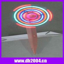Plastic light up led pen fan for children and officer used