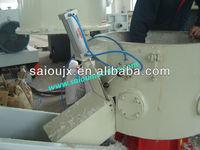 Plastic films agglomerator and pelletizing machine