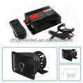 Sirene da polícia dc12v carro de polícia/caminhão alarme da sirene eletrônica/horn speaker com controle remoto sem fio