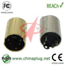 High Quality Mini Din 4P Plug Connector