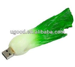 Promotional Gift Cabbage shaped pvc USB Flash Drive USB Stick Memory Thumb Drive