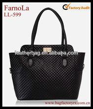 guangzhou manufacturer ladies genuine leather big brand handbag for wholesale
