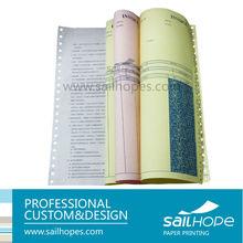 triplicate carbonless custom receipt book