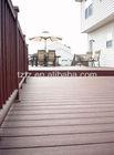 Fireproof wood plastic composite WPC boardwalk decking