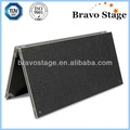 venta caliente de acrílico plegable etapa escaleras
