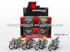 toys mini dirt bike die cast dirt bike with music 12pcs/box FW00012788-12