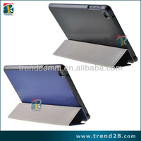 folding tablet computer leather case for ipad mini