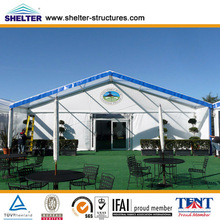 Aluminum folding industrial storage/temporary warehouse tents with good looking structure
