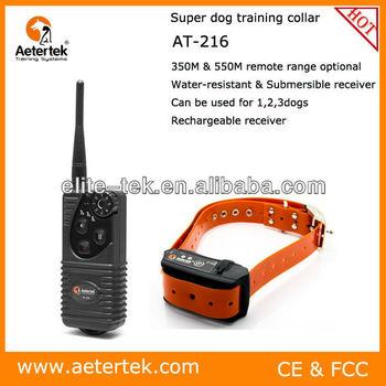 Aetertek AT-216 anti barking dog collar