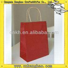 Fashion lady shopping paper bag