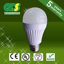 a19 led bulb 60 watt CE ROHS PSE 7W light led bulbs