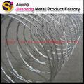 Fil de fer barbelé de rasoir en acier( prix bas et jiasheng usine)