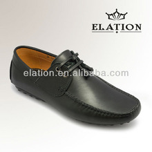 HFD 6295 Casual Genuine Leather Slip-On men shoe without brass shoe horn