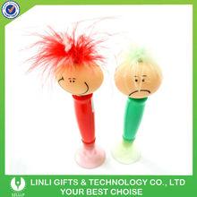 Promotional logo bouncing head children pen