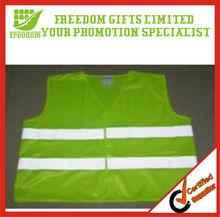 Green High Visibility Reflective Safety Vest