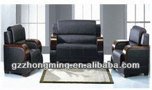 Modern 311 Black Pu Leather Sofa SF-002