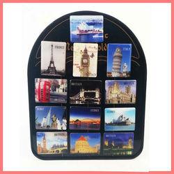 PVC tourist fridge magnet