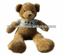 wholesale cheap 35cm Long Leg Brown Sweater Teddy Bear Toy for baby gift