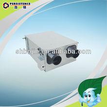latente y sensata de recuperación de calor de aire de ventilación del sistema