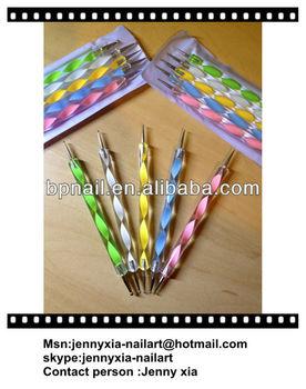 2 Way Dotting Pen 5Pcs Nail art Tool