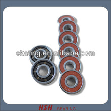 ABEC-3 ABEC-5 ABEC-7 ABEC-9 ABEC-11 608RS 8*22*7 8mm bore skateboard long board scooter bearing