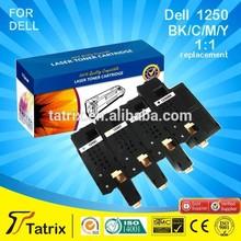 Laser toner cartridge for dell 1250/ cheap toner cartridges for dell 1250/ For Dell toner cartridge 1250