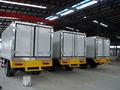 Caminhão refrigerado corpo, caminhão da caixa seca corpo