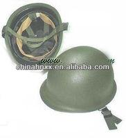 Military steel M1 helmet for training