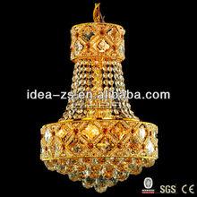 chandelier light wedding hall antique copper hanging lamp