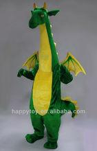 HI EN 71 green dinosaur custom costume for adult