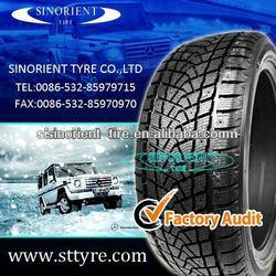 studded winter car tyre