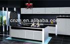 Indian kitchen design & high glossy mdf panel