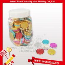2012 Bottle Coin Bubble Gum Candy