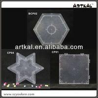 mini pegboards 2.6mm ARTKAL fused beads pattern bestest diy toys for kids