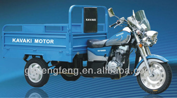 2013 New Design 150cc&200cc Sky blue MTR CargoTricycle KV150ZH-E4 Factory direct sales Three wheel motorcyle