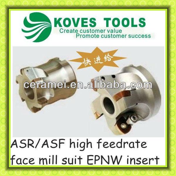 ASR/ASF milling cutter cnc shell milling machine cutter