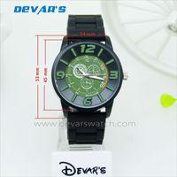 2013 relojes de pulsera de goma rubber bracelet watches relogios pulseira de borracha H3241G