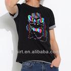 Black mens most popular t shirt colors