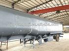 China 50cbm air suspension oil/water/LPG tanker truck semi trailer