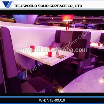 تصميم عصري مطعم طاولات وكراسي المطعم tableb كافتيريا( tw-- matb-- 143)