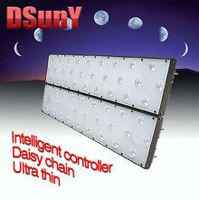 DSunY no fan noise programmabe 200w fish tank led for aquarium fish