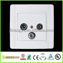 2013 FM+TV+satellite combination switch socket (LYFMTVSA(HF))