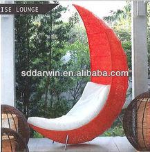 Outdoor and Indoor Rattan Swing Hang Moon Chair SV-7063