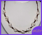 18 inches 10mm white A baroque latest design pearl necklace