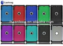 Multicolored 7.9 inch back covers for ipad mini,hybrid case for ipad mini,for ipad mini bling diamond case