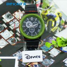 2013 goma correa de reloj de rubber watch band 24mm faixa de relogio de borracha H3236GB