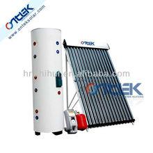 1000L split pressure solar water heater system,heat pipe solar water heater,high pressure solar geyser for swimming pool