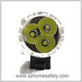 Hd007-3 3x xm-l2 led inteligente de seguridad en bicicleta las luces de la bicicleta
