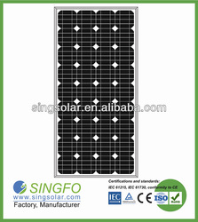 High Power 100 Watts Solar Panel For Home