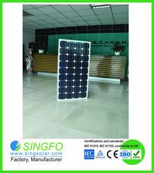 best price per watt 150w 18v poly pv solar panel